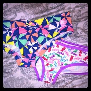 PINK Victoria's Secret Intimates & Sleepwear - 2 pair of Victoria's Secret panties- hipster